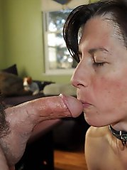 Sexy mature MILFs in their solo play