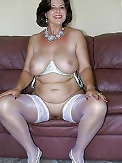 Mature cougars spreading their legs for money
