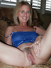 Ripened MILF is revealing her breasts